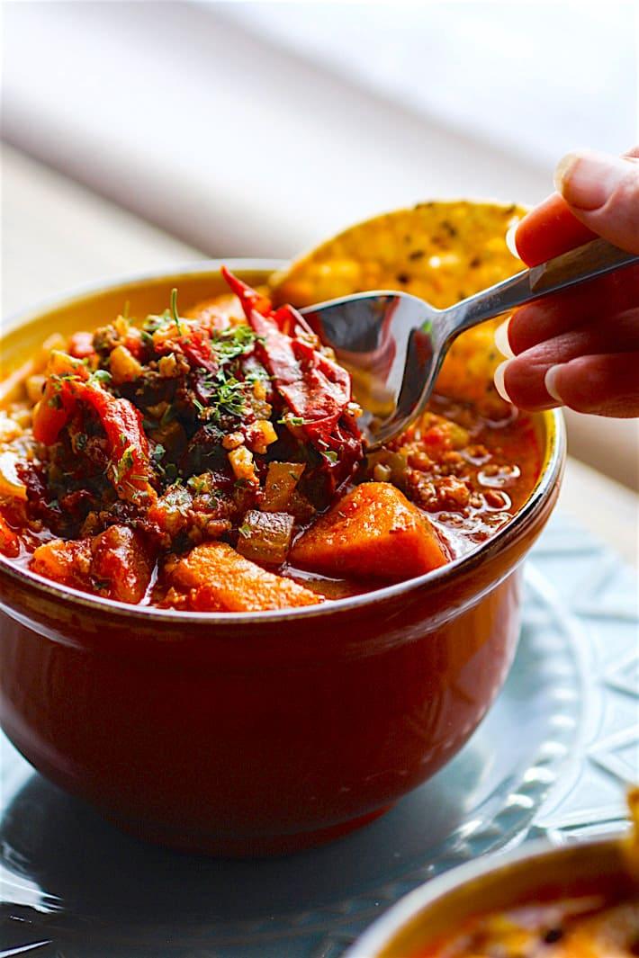 Healthy chili recipe crock pot