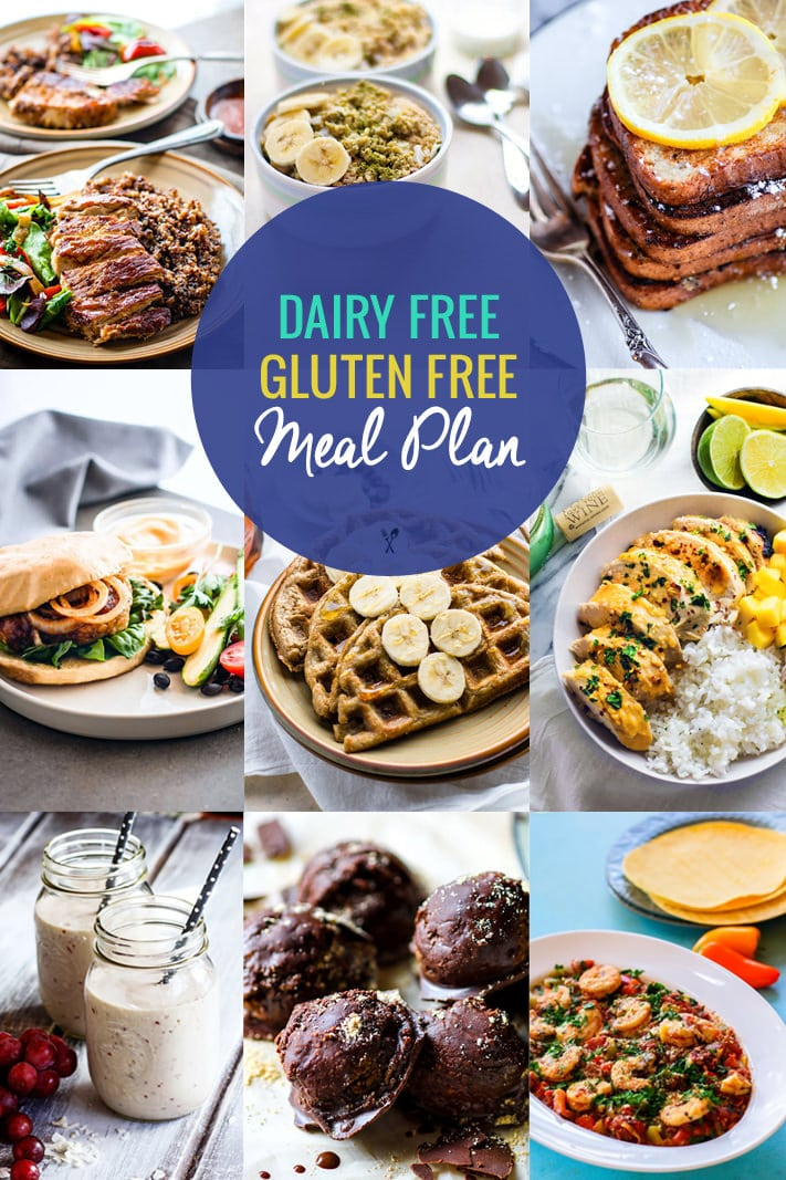Healthy dairy free gluten free meal plan recipes cotter crunch many people suffer from food allergies or sensitivities these days but creating a healthy dairy forumfinder Gallery