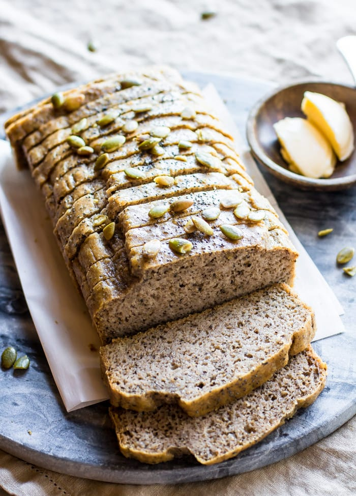 Homemade Nut and Seed Paleo Bread