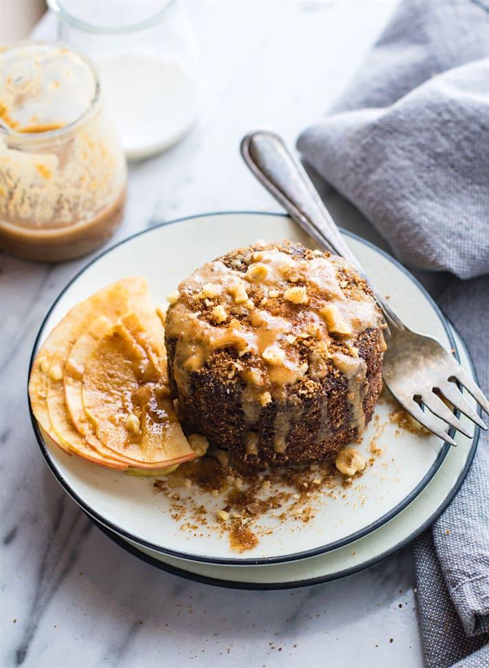 Mug Cake Cookie Vegan