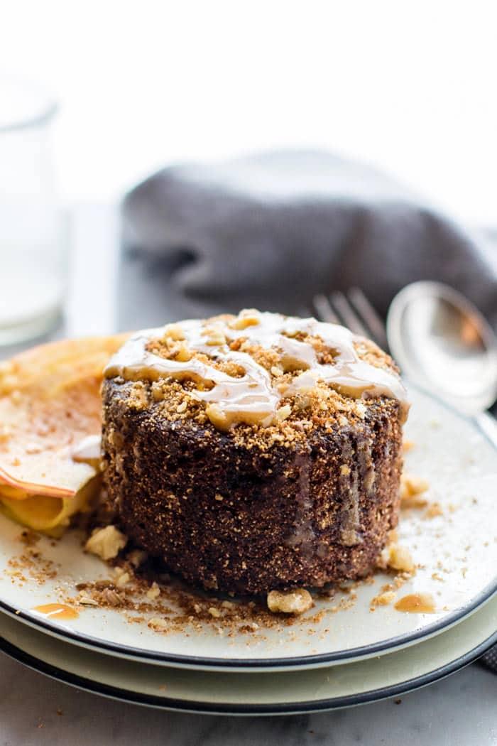 Cake In A Mug Vegan Coconut Oil