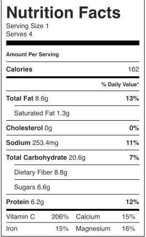 Curried Cauliflower Rice Kale Soup (Vegan, Paleo)