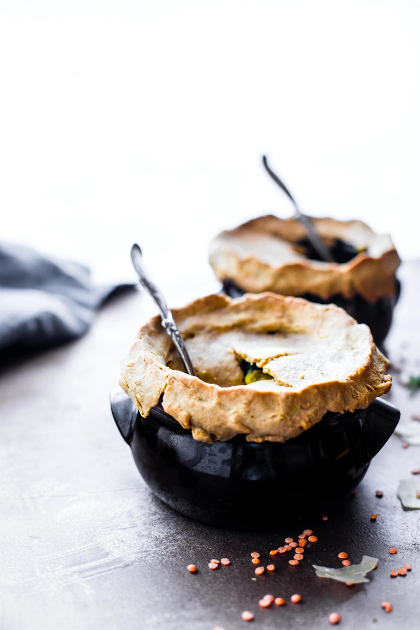 Mini Gluten Free Chicken Pot Pies {Dairy Free}