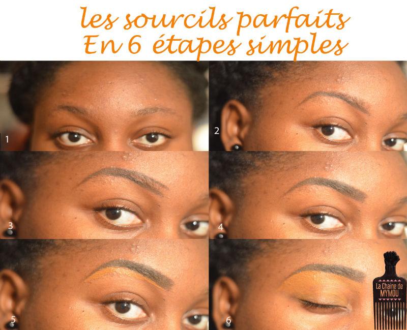 obtenir redessiner les sourcils parfaits