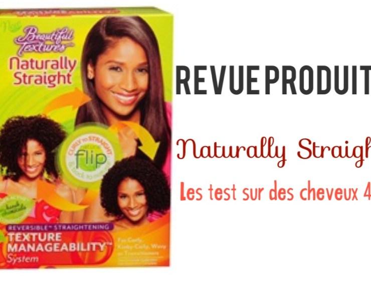 naturally straight la revue sur cheveux de type 4C lisser naturels beautiful textures