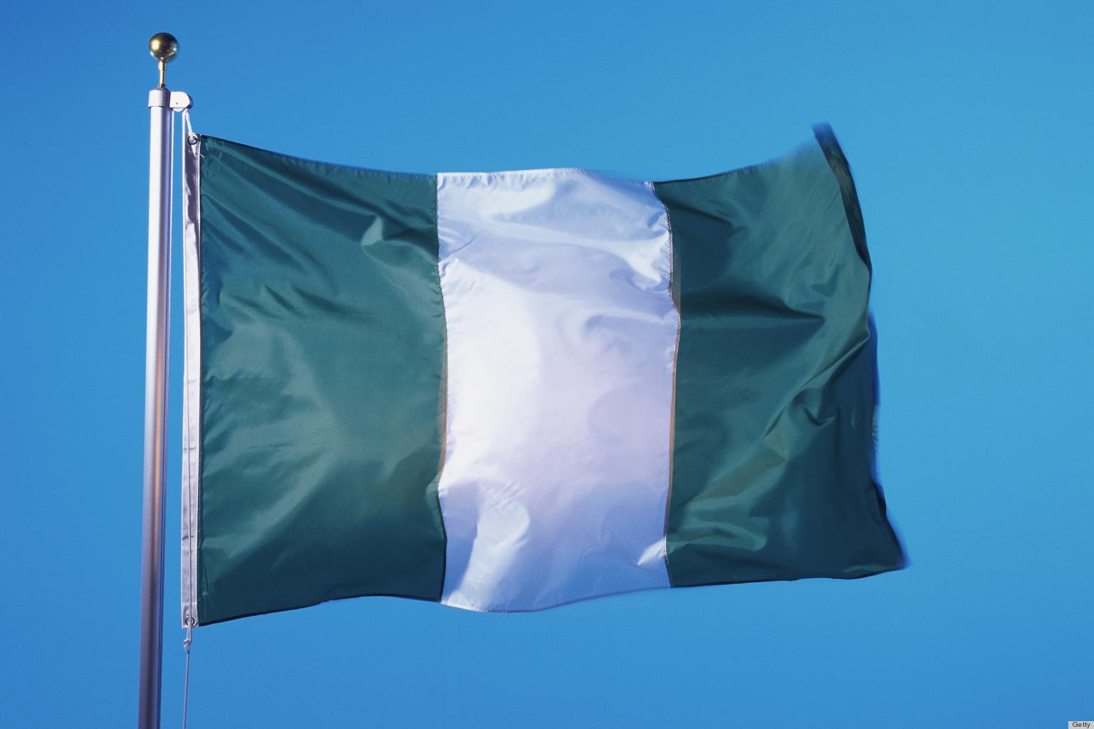 Drapeau Nigérian - Crédit photo : Huffington Post