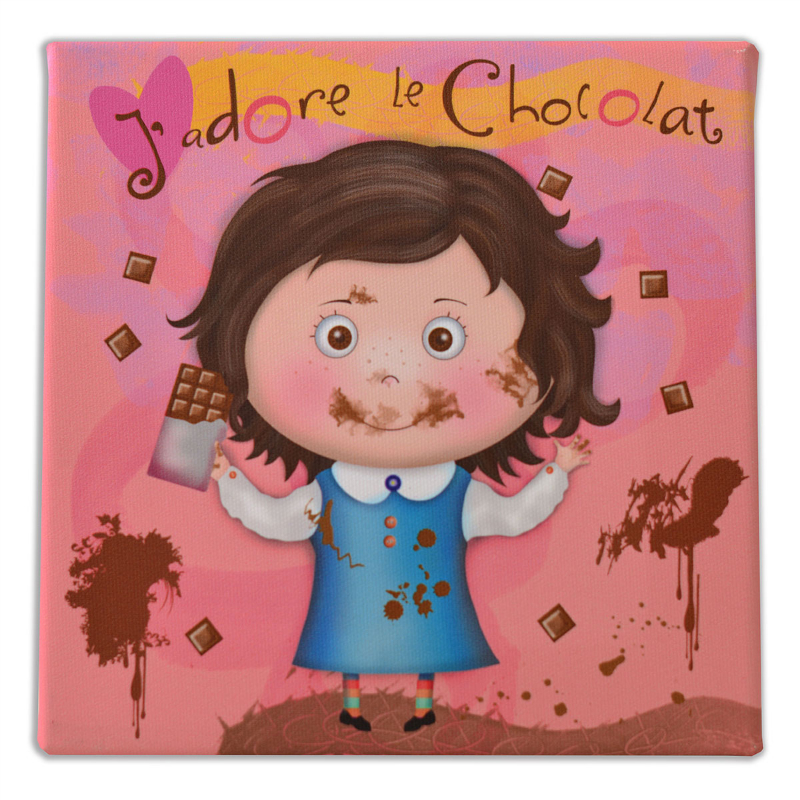 """Oui z""""aime le socolat #voixdepetitefille - photo prise ici"""