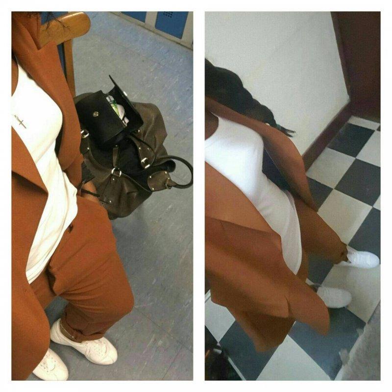 Vous avez dit costume ? Elle m'a appris à jouer avec les vêtements. #samelook #usfiewithdistance