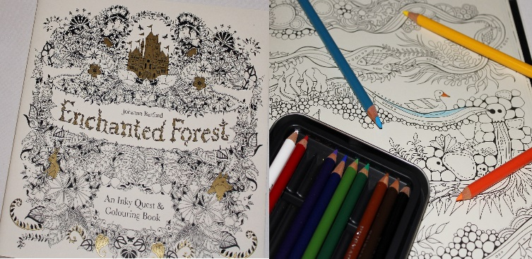 Adult Colouring Books 1 The Enchanted Forest I Got Mine From Dymocks But It Doesnt Seem To Be Listed On Their Site Any More One Of Newer Releases