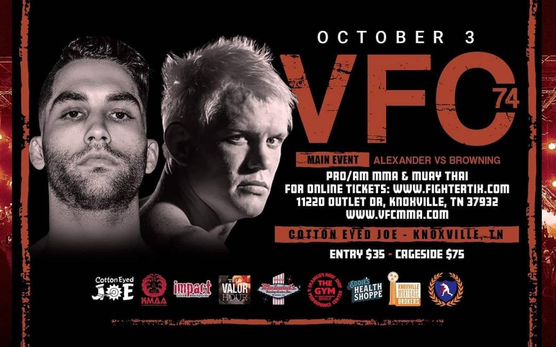 Valor Fights 74