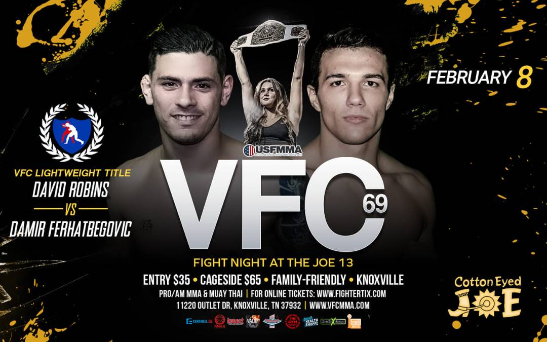 Valor Fights  69 – February 8