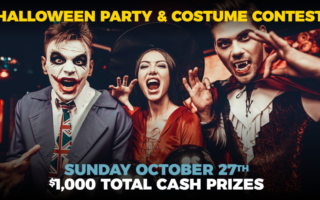 Halloween Party & Costume Contest Sunday Oct 27