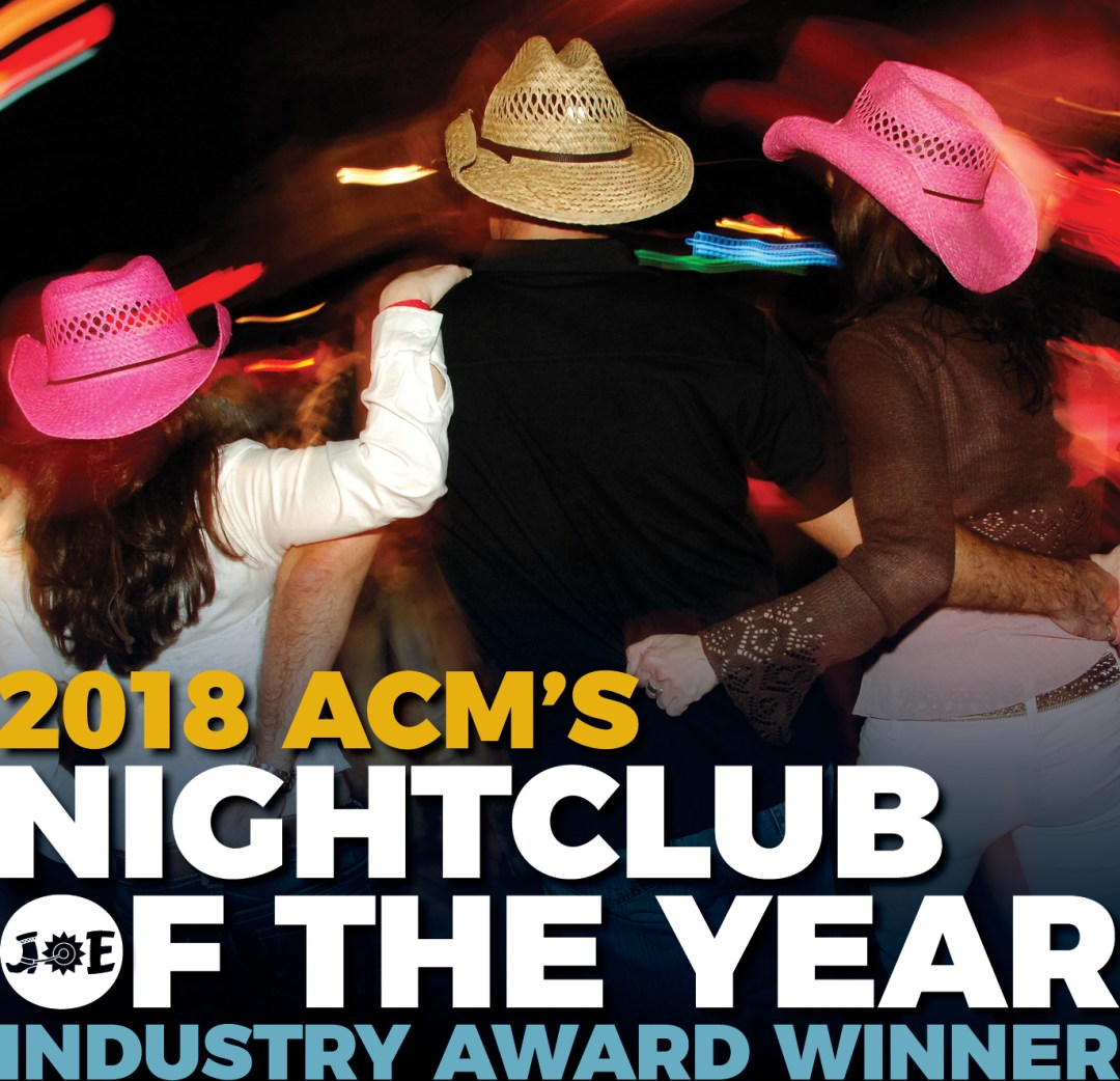 Cotton-Eyed Joe in Knoxville, TN - ACM Nightclub of the Year 2018!