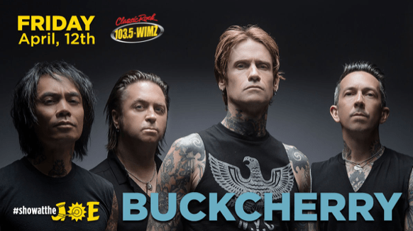 BUCKCHERRY – WARPAINT TOUR 2019