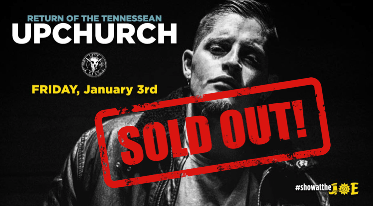 UPCHURCH – General Admission Friday 1/3