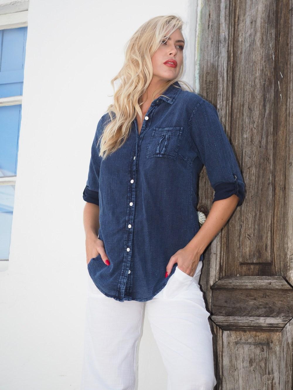 Kate Midnight Blue Shirt