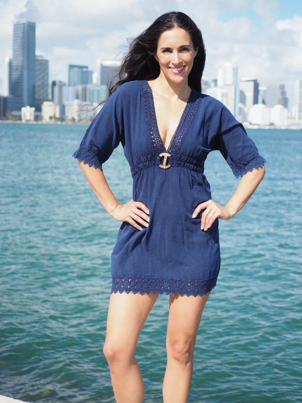 Avalon Midnight Blue Dress