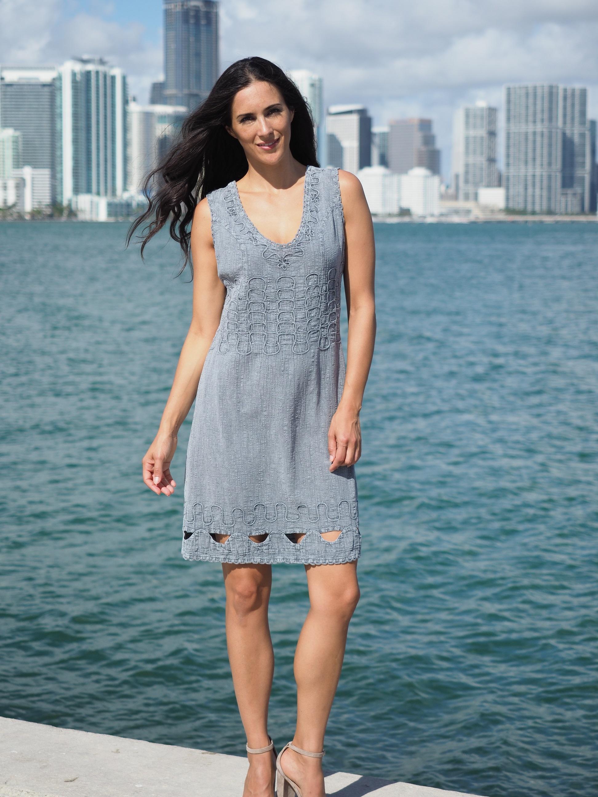 Largo Fossil Gray Dress
