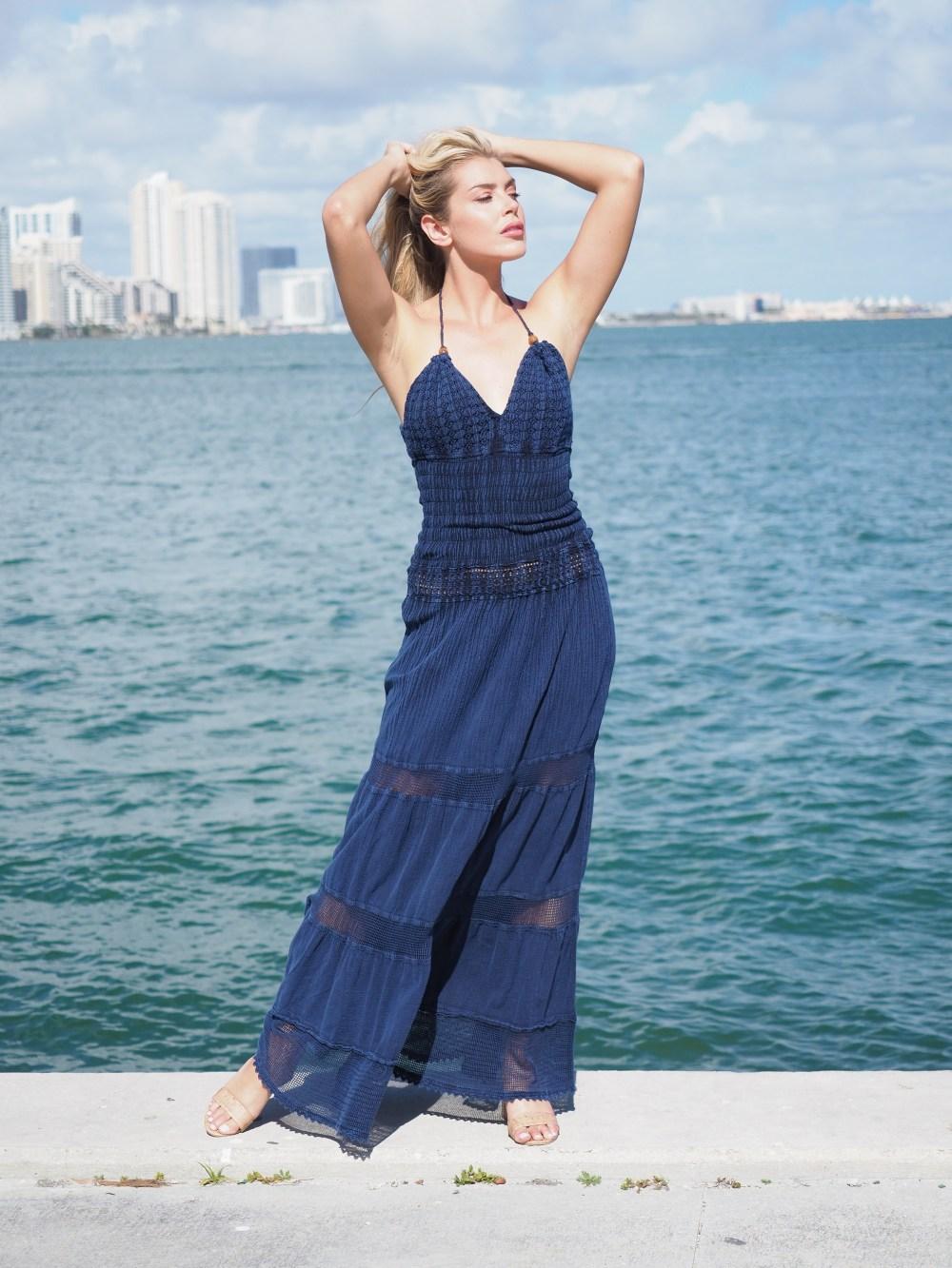 Hampton Midnight Blue Dress