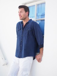 Star Midnight Blue Shirt