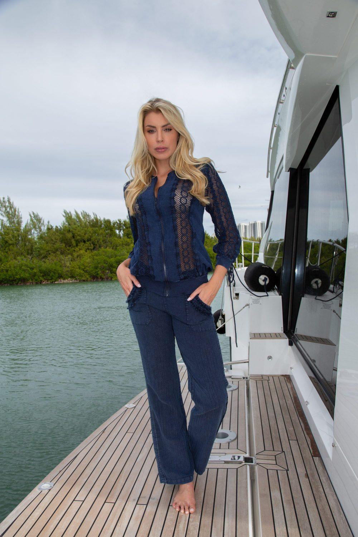 Seaside Midnight Blue Jacket