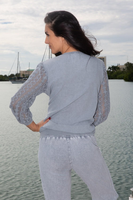 Seaside Fossil Gray Jacket