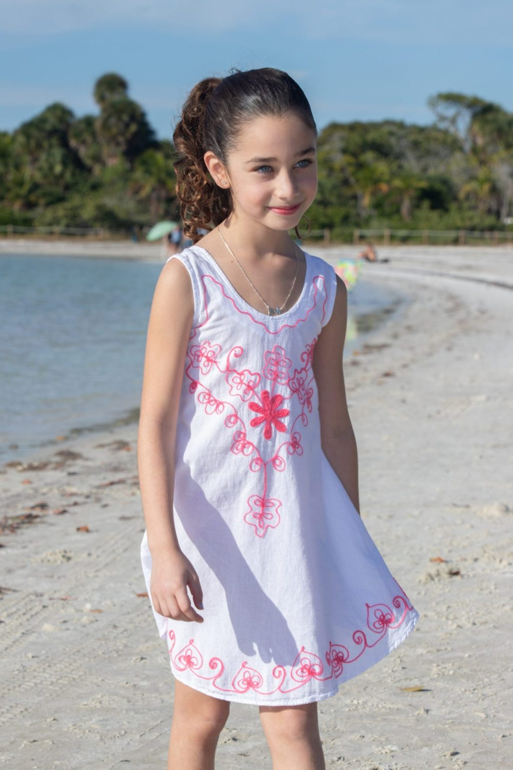 Girl's Flower Dress
