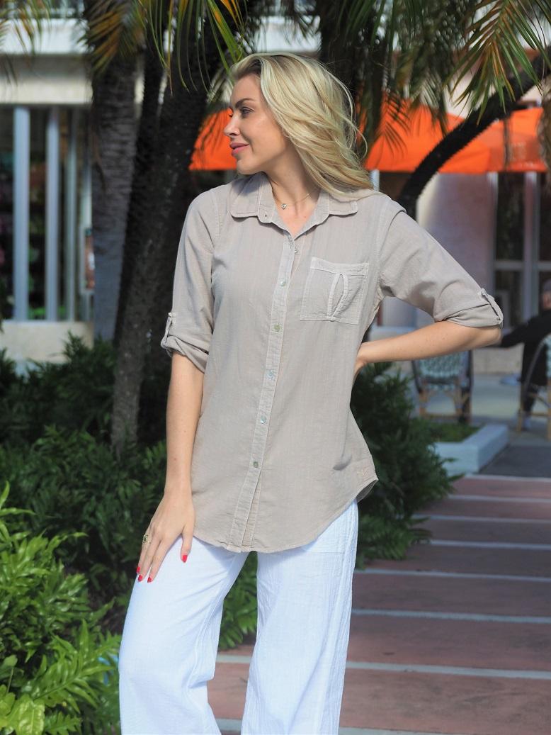 Kate Desert Sand Shirt