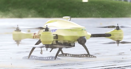 Meet the Ambulance Drone