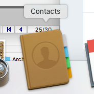 Share Contacts In Mac