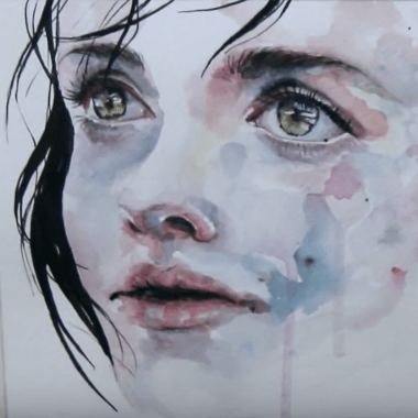 Just One In A Thousand Speed Painting by Agnes Cecile