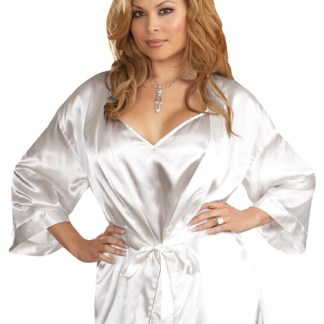 dc2768e60e Dreamgirl AIS Plus Size Pearl Chemise with Rhinestone  Bride  Accent ...