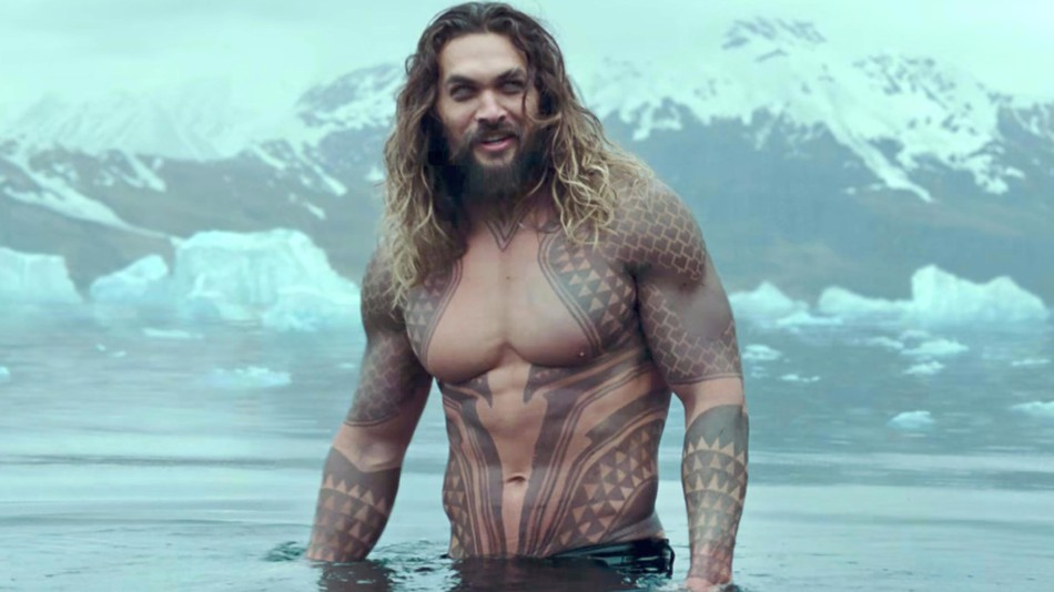 Jason Momoa als Aquaman in Justice League