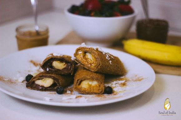 Nutella_Peanut Butter_Banana Dosa