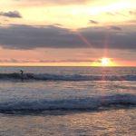 Coucher de soleil à Batu Belig