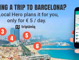 Concours: gagne un guide sur mesure à Barcelone