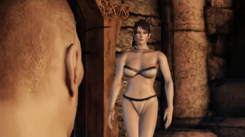 Dragon Age Origins, de la baise très soft