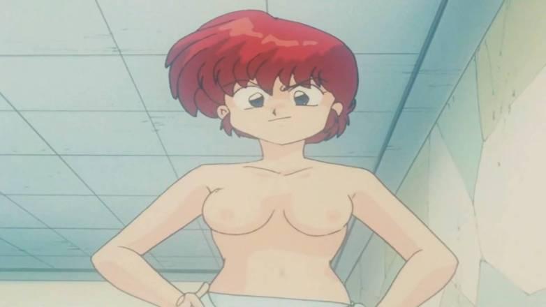 Nudité dans Ranma ½