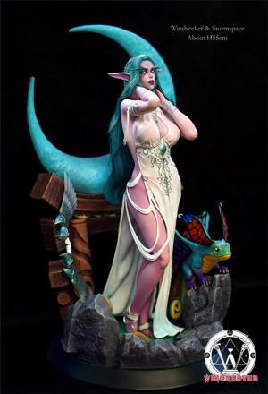 Tyrande Murmevent nue - World of Warcraft hentai 01