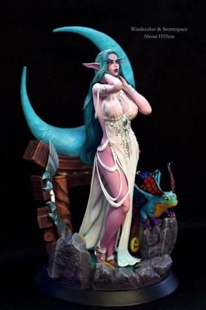 Tyrande Murmevent nue - World of Warcraft hentai 05