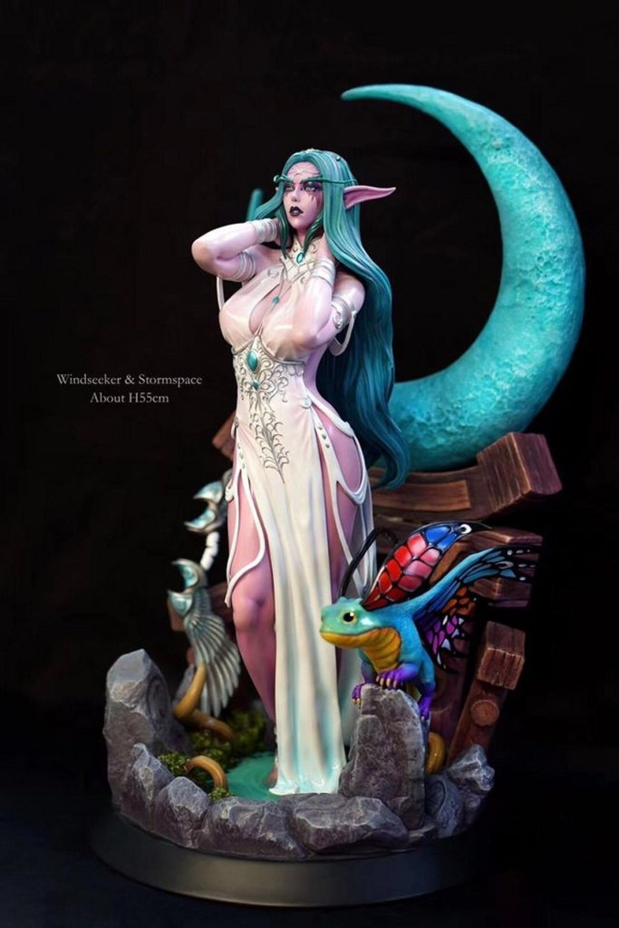 Tyrande Murmevent nue - World of Warcraft hentai 06