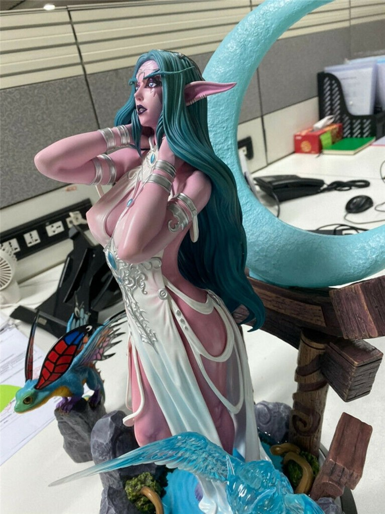 Tyrande Murmevent nue - World of Warcraft hentai 11