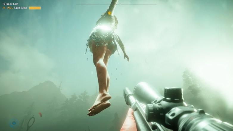 Upskirt Faith Seed nude Far Cry 5 03