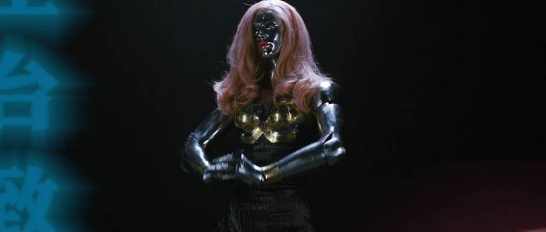 Cosplay sexy Cyberpunk 2077 01
