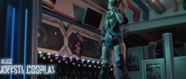 Cosplay sexy Cyberpunk 2077 05