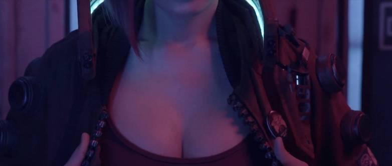 Cosplay sexy Cyberpunk 2077 08