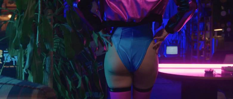 Cosplay sexy Cyberpunk 2077 10