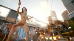 Nudité frontale Cyberpunk 2077 09