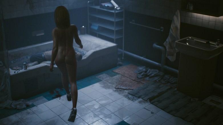 Nudité frontale Cyberpunk 2077 14