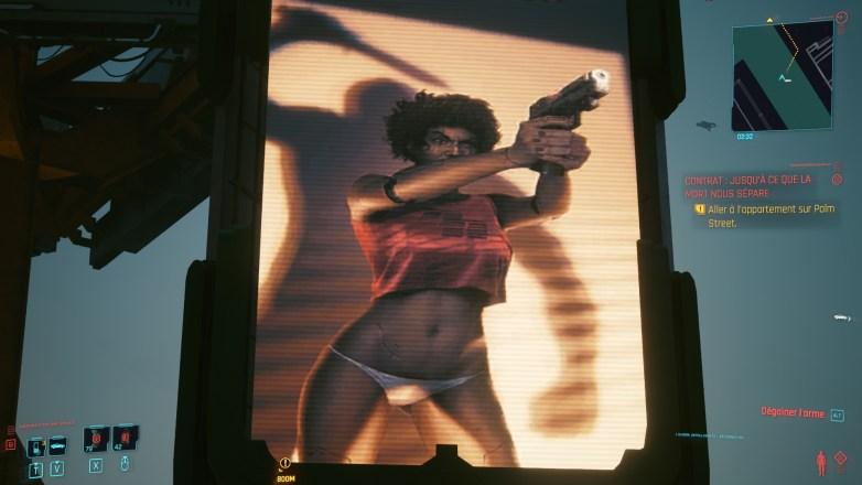 Pubs Sexy dans Cyberpunk 03